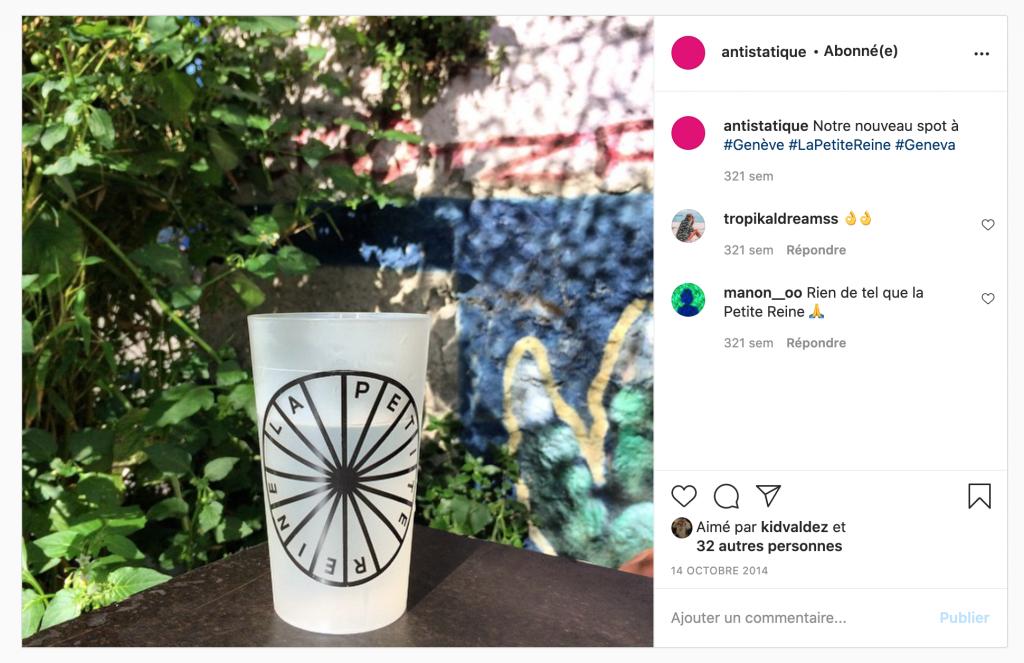 post instagram la petite reine