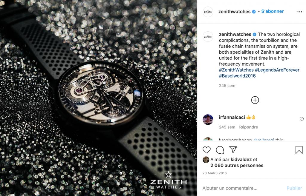 instagram zenith