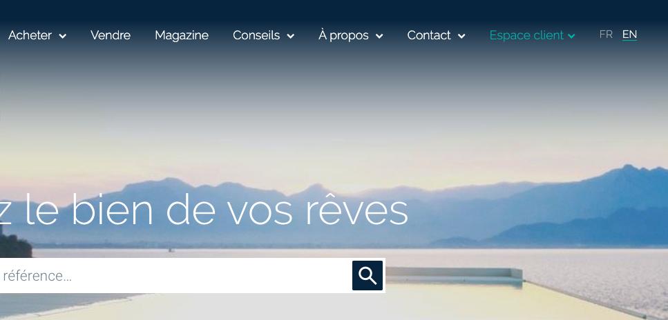 Capture d'écran de Cardis.ch