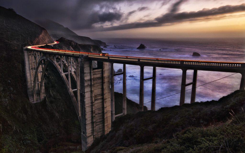 pont et mer de nuages