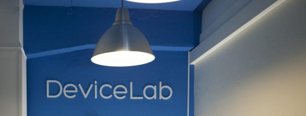 Photo du device lab
