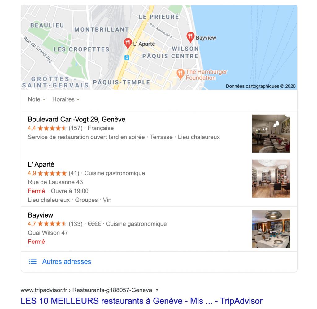 SEO - Référencement naturel: Référencement local, Google Maps et Google My Business