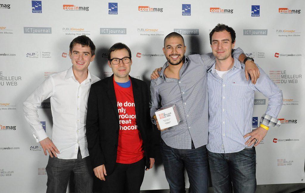 Gilles, Marc, Alberto et Vincent