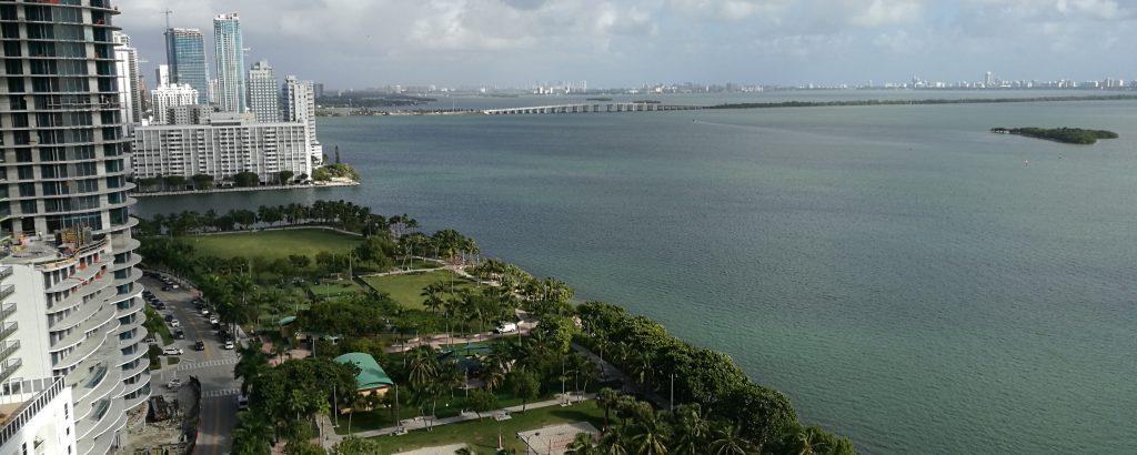 Vue des appartements à Miami