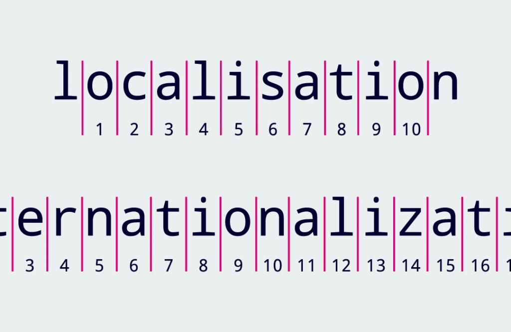 localisation / internationalization