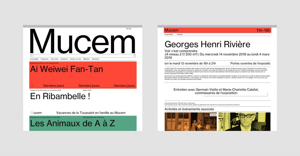 Site web du Mucem