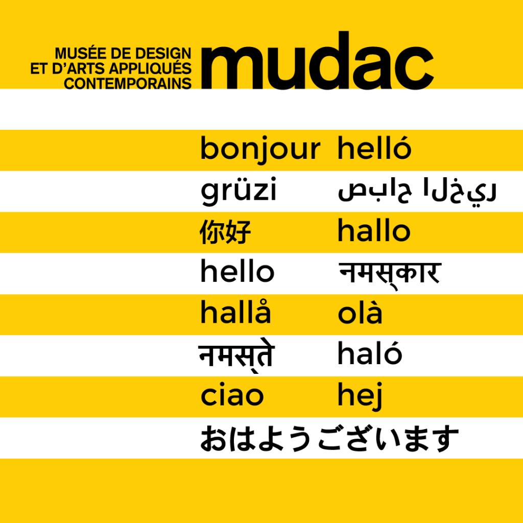 Hello dans plusieurs langues