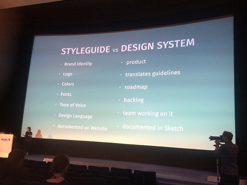 Styleguide Vs. Design system
