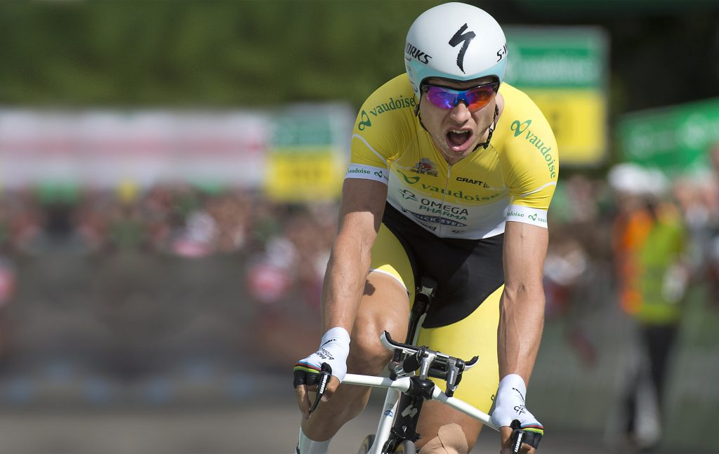 Cycliste du tour de Romandie