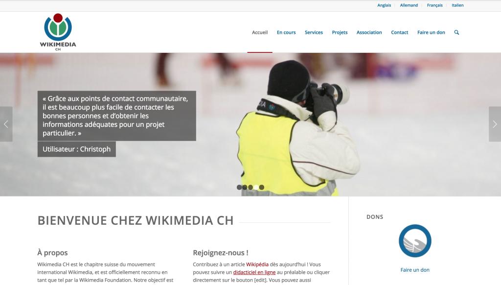 Wikimedia suisse - website