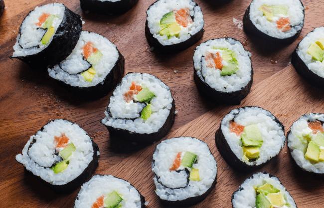 Photo des sushis d'Emma